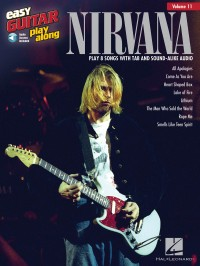 Easy Guitar Play-Along Volume 11: Nirvana (Book/Online Audio)
