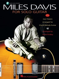 Miles Davis For Solo Guitar (Book/Online Audio)