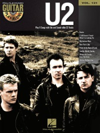 Guitar Play-Along Volume 121: U2 (Book/Online Audio)