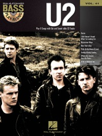 Bass Play-Along Volume 41: U2