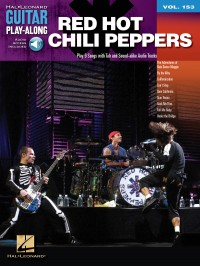 Guitar Play-Along Volume 153: Red Hot Chili Peppers (Book/Online Audio)
