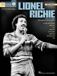 Pro Vocal Men's Edition Volume 55: Lionel Richie