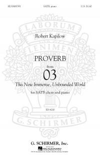 Robert Kapilow: Proverb