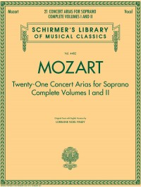 W.A. Mozart: 21 Concert Arias For Soprano - Complete Volumes 1 And 2
