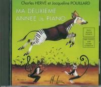 Herve/Pouillard: Mein Zweites Jahr Klavierunterricht (CD)