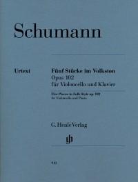 Robert Schumann: Five Pieces In Folk Style Op.102 - Cello Version