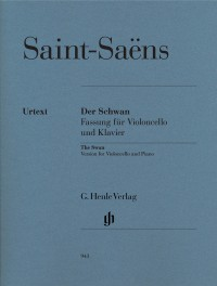 Camille Saint-Saëns: The Swan - Cello/Piano (Urtext)