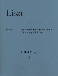 Franz Liszt: Après Une Lecture De Dante - Fantasia Quasi Sonata