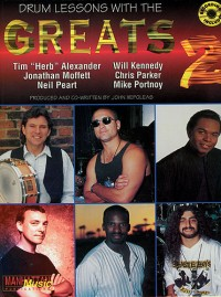 Drum Lessons With The Greats: Book 2