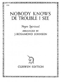 J. Johnson: Nobody Knows The Trouble I've Seen