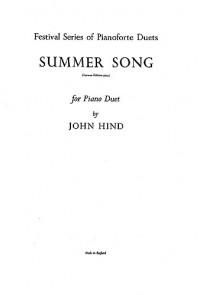 John Hind: Summer Song
