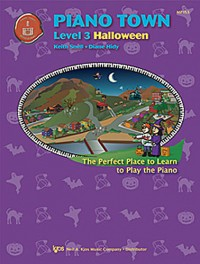 Keith Snell/Diane HidyPiano Town Halloween - Level Three