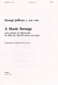 George Jeffreys: A Music Strange