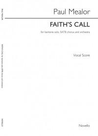 Paul Mealor: Faith's Call (Vocal Score)