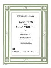 Hennig, M: Kadenzen komplett