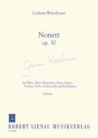 Waterhouse, G: Nonet op. 30