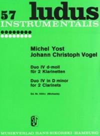 Michel Yost_Johann Christoph Vogel: Duo Nr. 4