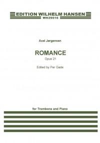 Axel Jørgensen: Romance Op.21 For Trombone And Piano