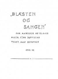 Finn Hoffding: Blæsten og Sangen