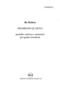 Bo Holten: Trombone Quartet