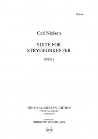 Carl Nielsen: Suite For String Orchestra Op.1 (Score)