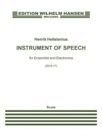 Henrik Hellstenius: Instrument Of Speech