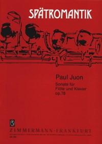 Juon, P: Sonata op. 78