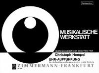 Christoph Hempel: Uhr-Aufführung