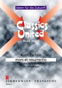 Ruth Zechlin: mors et resurrectio (Tod und Auferstehung)