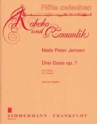 Niels Peter Jensen: Duos(3) Op.7