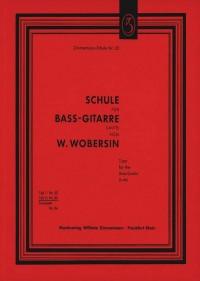 Wilhelm Wobersin: Schule für Bass-Gitarre (Laute) Teil II