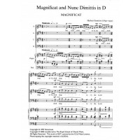 Sumsion: Magnificat & Nunc Dimittis In D (SATB)