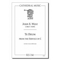 West: Te Deum from the Service in C