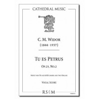 Widor: Tu es Petrus, op. 23, No. 2