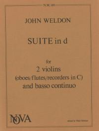 Weldon: Suite in D minor