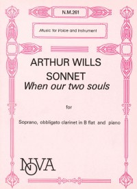 Wills: Sonnet, When Our Two Souls