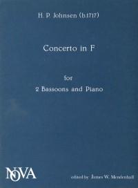 Johnsen: Concerto in F