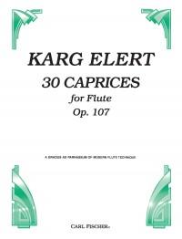 Sigfrid Karg-Elert: 30 Caprices Op.107