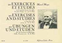 Marcel Moyse: 20 Exercices Et Etudes Sur Les Grandes Liaisons Pour Flûte