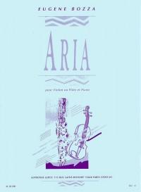 Eugène Bozza: Aria (Violin Or Flute/Piano)