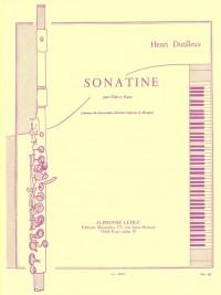 Henri Dutilleux: Sonatine For Flute And Piano