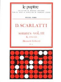 Scarlatti: Oeuvres Complètes Pour Clavier Volume 3 Sonates K104 À K155 (Lp33)