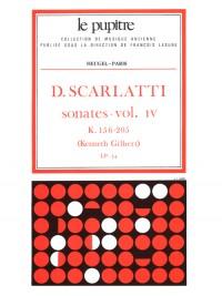 Scarlatti: Oeuvres Complètes Pour Clavier Volume 4 Sonates K156 À K205 (Lp34)