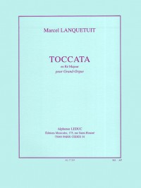 Marcel Lanquetuit: Toccata In D For Organ