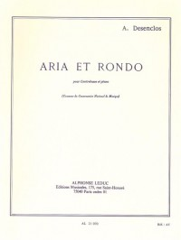 Alfred Desenclos: Aria And Rondo For Double Bass And Piano