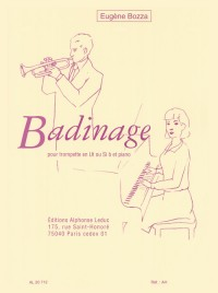 Eugène Bozza: Badinage (Trumpet/Piano)