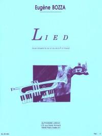 Eugène Bozza: Lied (Trumpet/Piano)