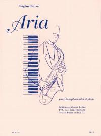 Eugene Bozza: Aria (Alto Saxophone/Piano)