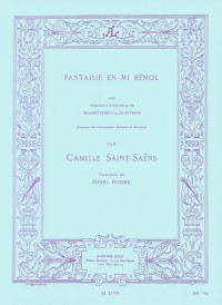 Camille Saint-Saëns Fantaisie In E Flat (Trumpet/Piano) (Büsser)