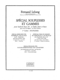 Fernand Lelong: Special Exercises For Flexibility And Scales (Volume 1)